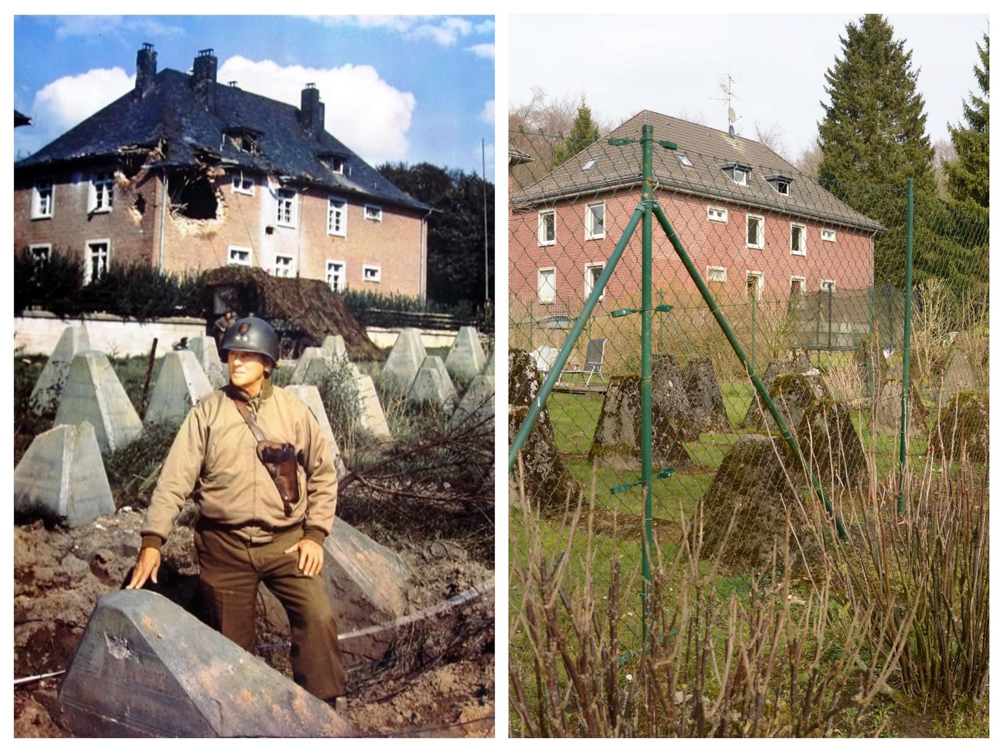 Siegfried Line Aachen World War 2 Revisited