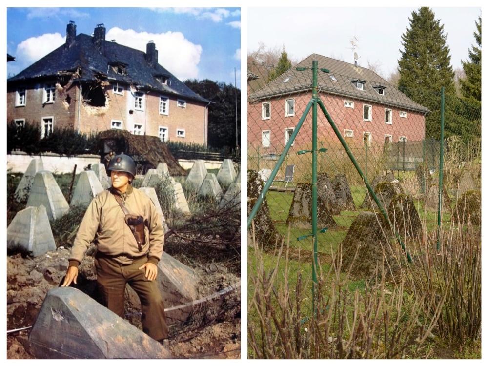 Siegfried Line, Kopfchen: Then & Now
