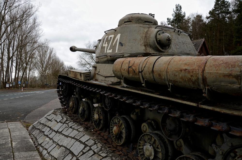 Polish JS-2 Tank Memorial