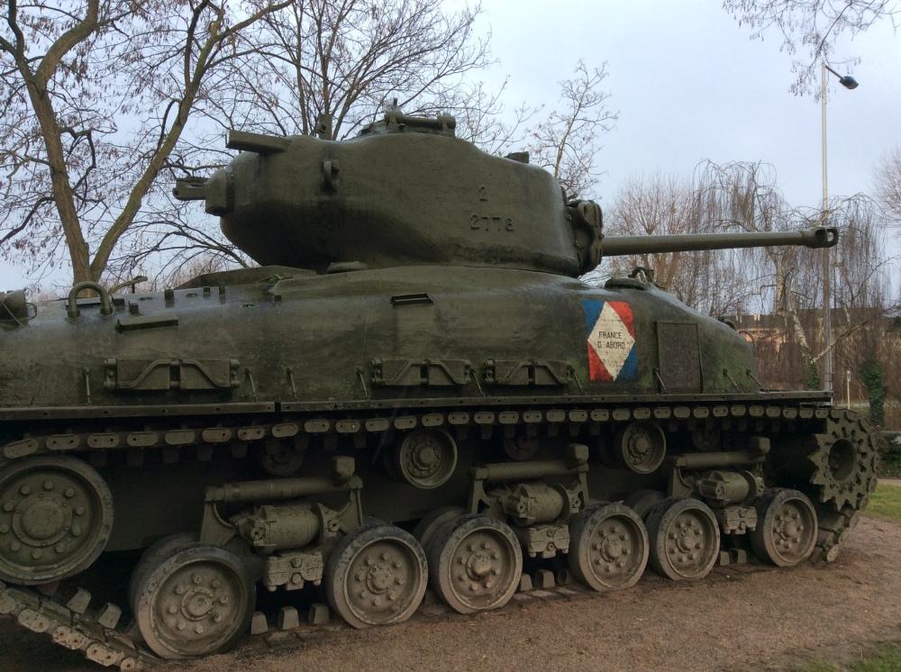 Free French Sherman Tank, Colmar