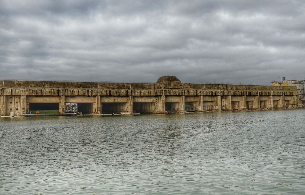 The sheer size of the U-Boat Pens