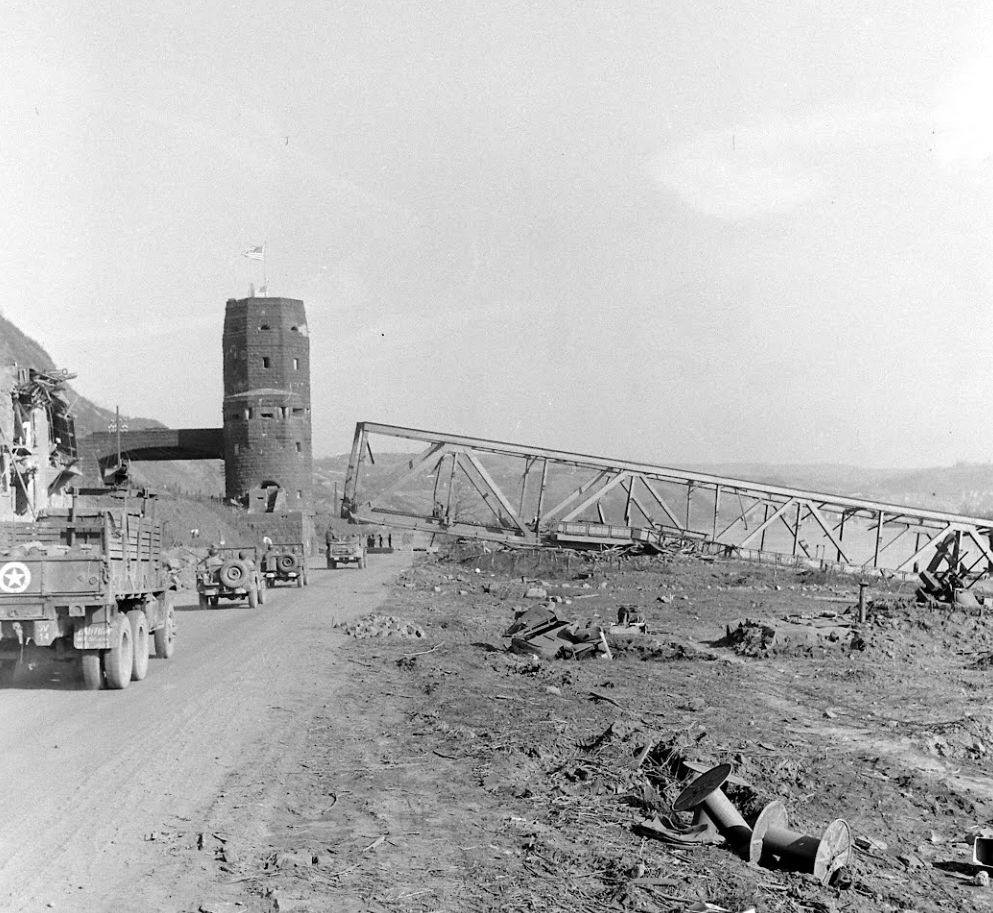 Eastern towers at Remagen March 1945
