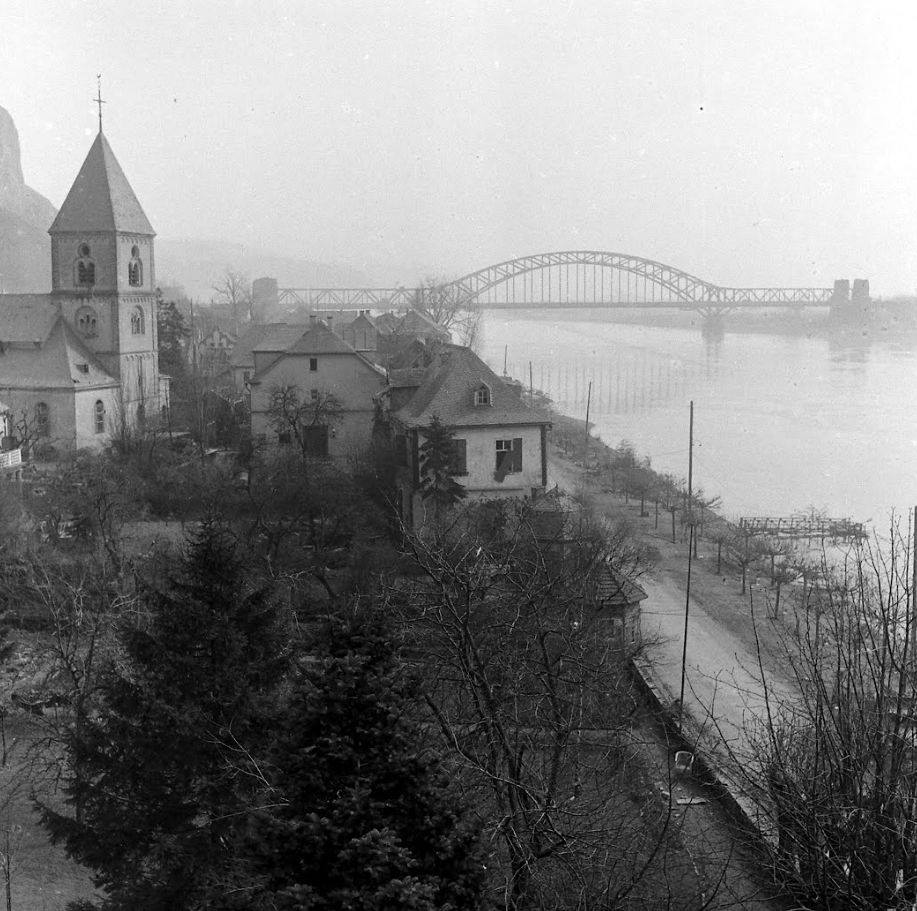 Remagen Bridge March 1945 (NARA)