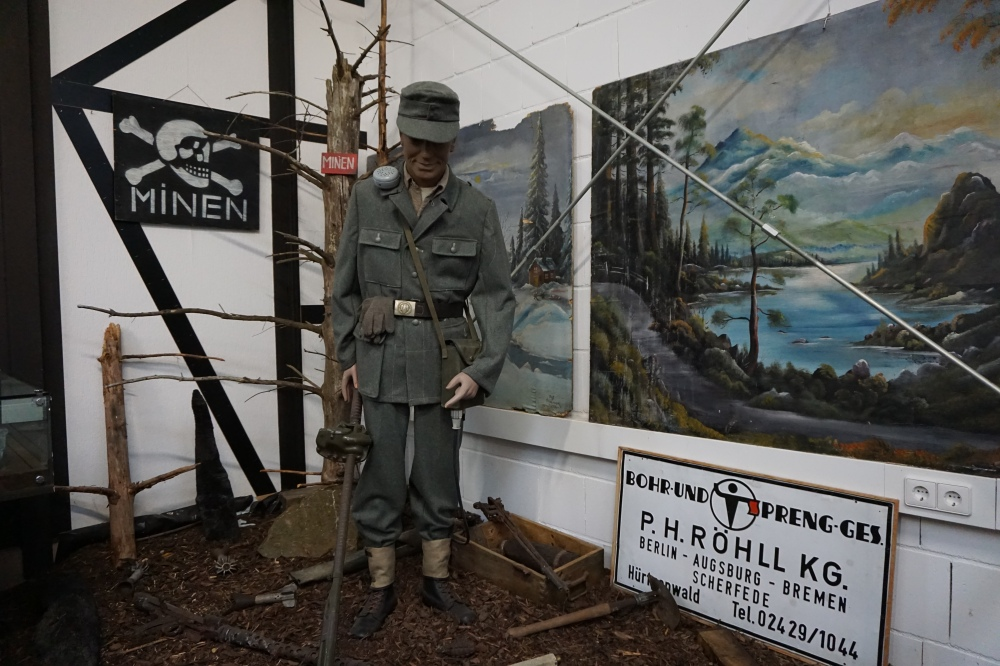 Mine Clearance Display: Hürtgenwald Museum