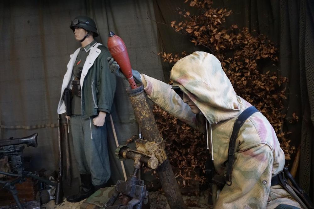 German Heavy Weapons Display: Hürtgenwald Museum