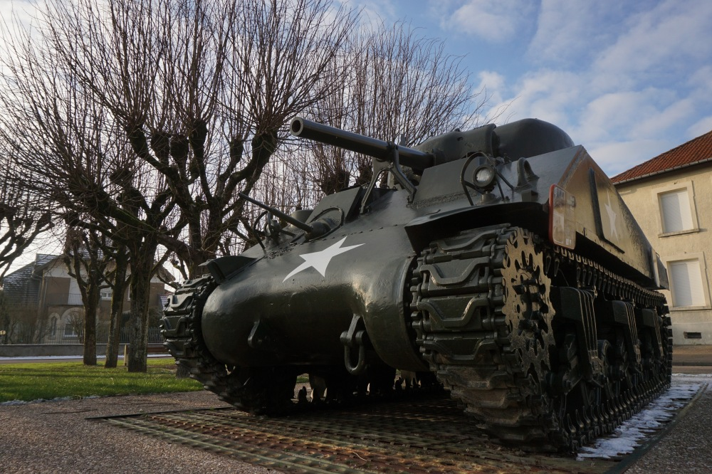 M4 Sherman, Montfaucon