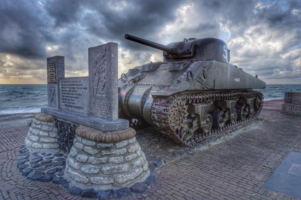Sherman Flail Tank, Westkapelle