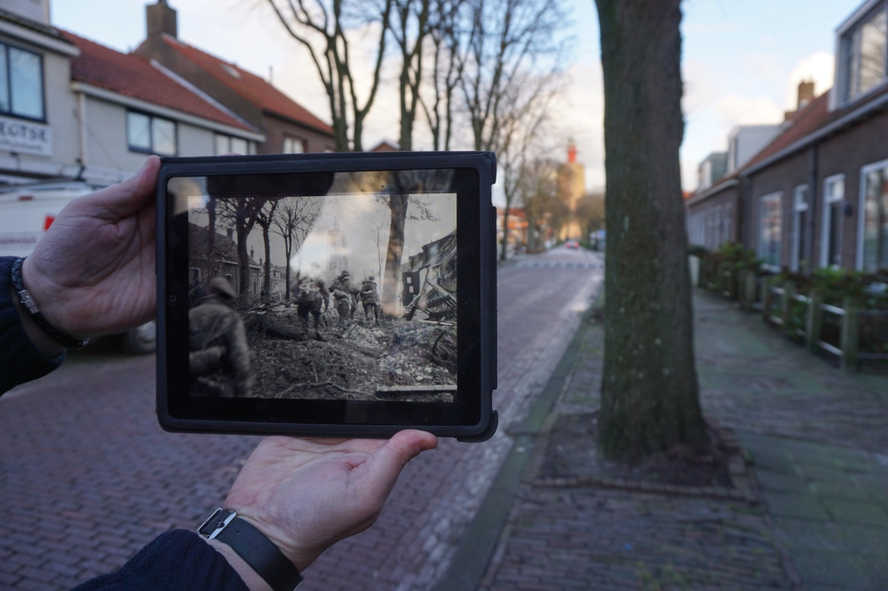 Westkapelle Then & Now