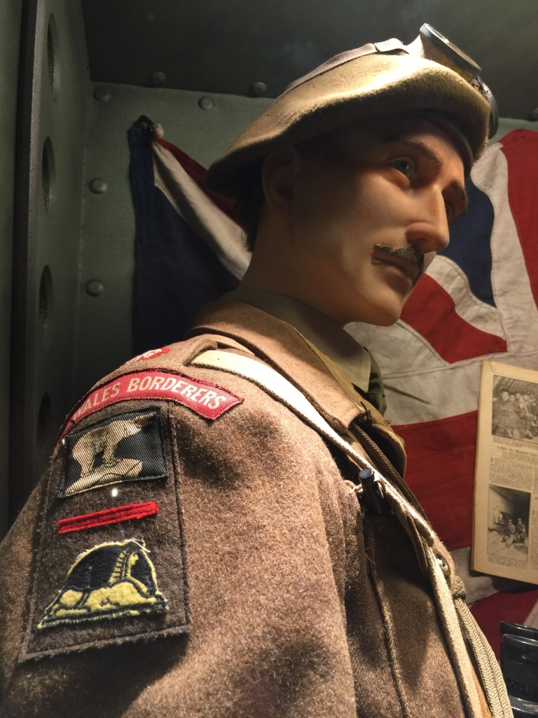 British Display at For Freedom Museum