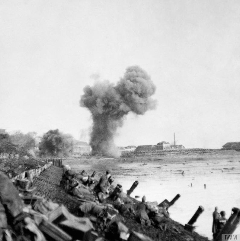 Uncle Beach, Flushing 1944 (IWM BU 1255)